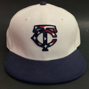 New Era. Minnesota Twins 4th of July hat USA Flag